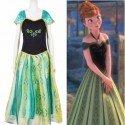 Frozen - Disfraz De Coronación Anna Adulto - T6 Xl/2Xl