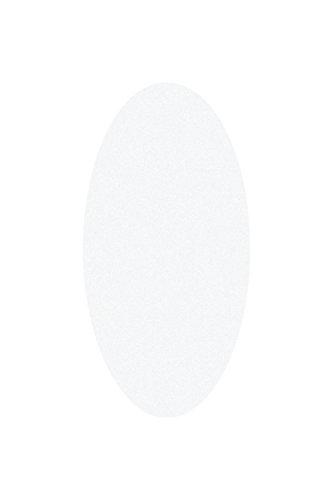 Legamaster 7–254104–Tarjetas de moderación ovalada, color weiß