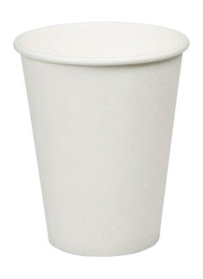 Thali Outlet-100x 340Bianco Singolo da parete Bicchieri di carta usa e getta per tè, caffè cappuccino bevande calde