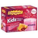 Alacer Alacer EMERGEN-C Kidz, Obst PNCH, 30 PKT - Emergen-c Vitamin C