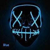 Best Halloween Masks - Leoie Scary Halloween Mask LED Light Up Mask Review