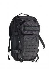 Robuster und Praktischer Rucksack US Assault I klein 30 Liter in verschiedenen Farben (Tropentarn) Schwarz