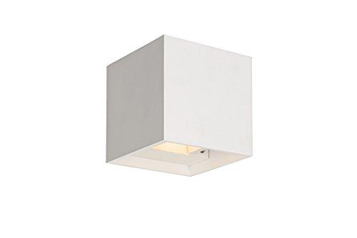 Lucide XIA - Applique Murale - LED - 2x1W 3000K - IP54 - Blanc
