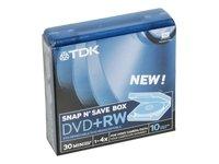 Tarrina de 10 Mini DVD+RW TDK - 1