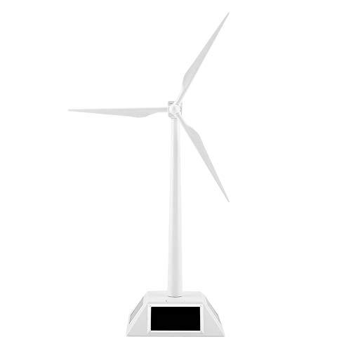 Solare 3D Mulino Vento Modello Assemblato Mestiere Formazione Scolastica Apprendimento Giocattolo Divertente Compleanno Natale Regalo Turbina Eolica per Home Desktop Decor Ornamento Giardino