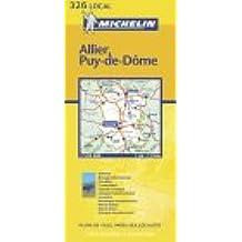Carte routière : Allier - Puy-de-Dôme, N° 11326