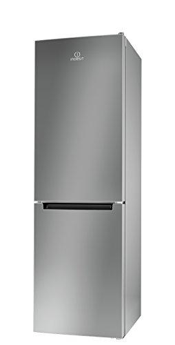 Indesit LI80 FF2 S B Libera installazione 215L 90L A++ Acciaio inossidabile frigorifero con congelatore