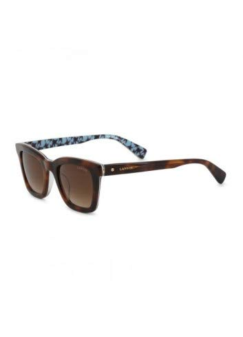 Unbekannt Damen Lanvin Sonnenbrille in Braun Model: SLN723V