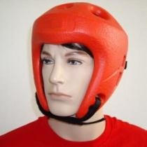 Kickbox Kopfschutz schwarz