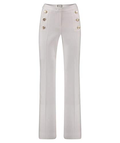 Seductive Hose Sailor weiß hohe Leibhöhe Goldknöpfe 852860 (38) Sailor Hose