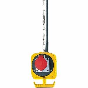Brennenstuhl CEE Stromverteiler-Pendel IP44 4-fach H07RN-F 5G1,5 5m gelb