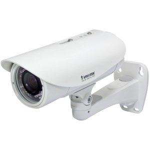 Vivotek IP8335H Tag/Nacht Netzwerkkamera (1 Megapixel, 3-9mm, Infrarot-Strahler 20m, Wide Dynamic Range CMOS Sensor, Power over Ethernet, Triple Codec H.264/MPEG4/MJPEG) mit Varioobjektiv und P-Iris