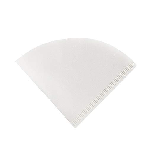 V01 Einweg-Papier-Kaffeefilter Keramik-Kaffeepapier Pour Over Coffee Dripper Coffee Maker Size 01 Cone Form White 1pc