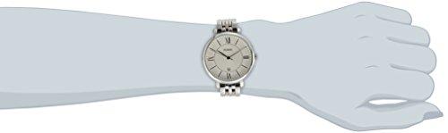 Fossil-Jacqueline-Edelstahlarmband-Uhr-fr-Damen-silberEdelstahl-Uhr-mit-Quarz-Uhrwerk-analoger-Datumsanzeige-idealer-Begleiter-fr-jede-Gelegenheit