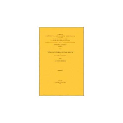 Vitae Sanctorum Antiquiorum, I. Acta Yared Et Pantalewon. Aeth. 10. = Aeth. II, 17