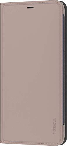Original Nokia Entertainment Flip Cover, Schutzhülle für 3.1 Plus, Cream