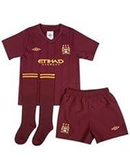 2012-13 Man City Away Little Boys Mini Kit