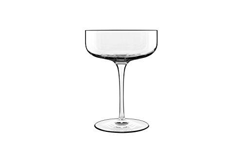 Luigi Bormioli Sublime Coupe Champagner Wein Glas–Set von 4 farblos - Coupe 10.25