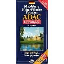ADAC FreizeitKarte, Bl.12, Magdeburg, Hoher Fläming, Potsdam