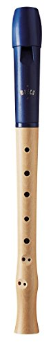 Moeck Flauto 1 Plus 1023 blau · Sopran-Blockflöte