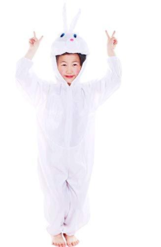 69a4322219598d Lovelegis ( Taglia S ) Costume da Coniglio Bianco - 2 - 3 Anni -  Travestimento
