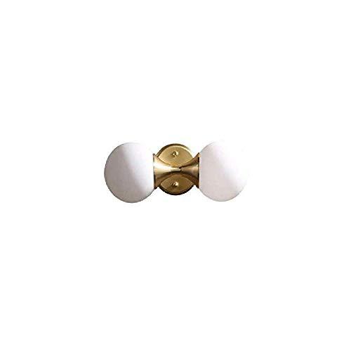 Lampe Kristall Doppel Lichter Retro Badezimmer Badezimmerspiegel Kabinett Kupfer Modern Stand Glas Lichter Kronleuchter Beleuchtung -