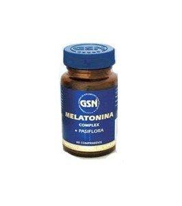 GSN Melatonina Complex y Pasiflora - 120 Cápsulas