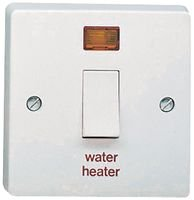 Best Price Square 20A DP WATER HEATER SWTCH AND 4015/31 By CRABTREE