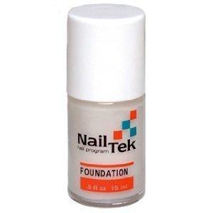 Nailtek Foundation No.3 Ridge-Filling Nail Strengthener Base Coat, 0.5 Fluid Ounce by Nailtek (English Manual)
