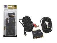 Belkin - Video / audio cable kit - S-Video / audio - 4 PIN mini-DIN, mini-pho... Kit S-video