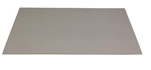 3,0 mm Forex ® color grau Hartschaum Platte Messewand (Trennwand) Tafelformat 770 x 600 mm PVC