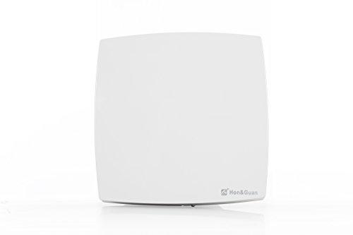 Hon&Guan Ø150 mm Abluftventilator Ultra-leise mit Effiziente Belüftung , Wand-Ventilator für Küche / Badezimmer / Schlafzimmer / - Küche Abluftventilator