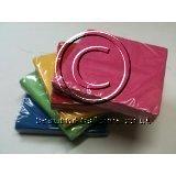 5x 20Stück Getränke Servietten = 100(Pink, Rot, Gelb, Grün und Blau) Rainbow Party Einhorn Design Retro Gay Pride London