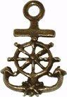 Glücksbringer/Amulett/Talisman/Symbol/Schmuck: ANKER Anhänger (Seereise) mit Weiheanleitung