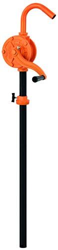 BLUREA Fasspumpe mit Kurbel für 60l & 200l Metallfässer, 250ml pro Umdrehung, 100cm Länge variabel, Anschlussgewinde 2