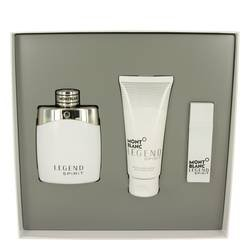 Gift Set - 3.3 oz Eau De Toilette Spray + 0.5 oz Mini EDT Spray + 3.3 oz After Shave Balm