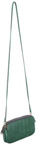 ESPRIT K15081, Pochette donna,11x24x4 cm (L x A x P) Verde (Grün (Vivid Green 329))