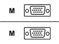 Usb Hddb15 (62035-25 SVGA Hi-Res Video-Ersatzkabel, 15 m / hddb15 m)