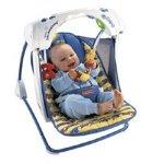 Fisher Price modelo 25C5858 Hamaca electrica para bebés