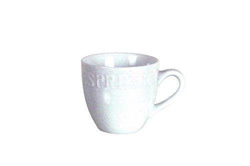 NOVASTYL Lot de 6 Tasses Expresso 9 CL Cafeino