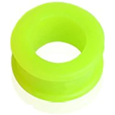 Gekko Body Jewellery Verde Double Flared Flessibile Ear Flesh Tunnel/Plug–12mm (1/2