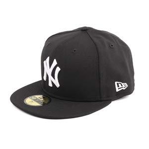 New Era Herren Fitted Caps MLB Basic NY Yankees schwarz 7-55,8cm (13 Mlb)
