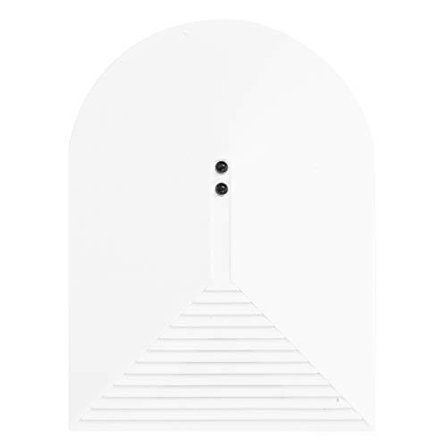 Detector de rotura de vidrio Alarma Cristal de vidrio roto ultra delgado Sensor de alarma Sistema de alarma inalámbrico de seguridad para el hogar Adecuado para el hogar, la oficina