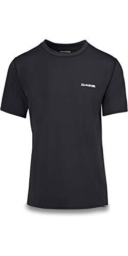 Dakine Herren Heavy Duty Loose Fit Kurzarm Surf Shirt Schwarz - 6,5 Unzen Loose Fit Surf Shirt - Flatlock-Nähte -