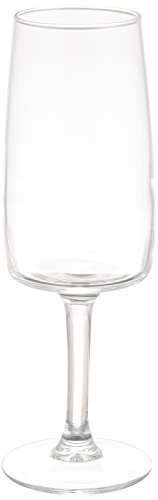 Luminarc 7276012 Lot de 6 Flûtes Verre Transparent 17 cl