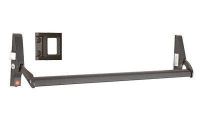 Crossbar-panic Exit Device (C.R. LAURENCE 311095LS4313 CRL Dark Bronze 48 Jackson 10 Series Left Hand Reverse Bevel Crossbar Rim Panic Exit Device, S-Type Strike by C.R. Laurence)
