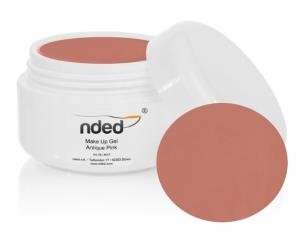 Gel UV Make-up Antique pink color NDED - 4610 - gelnded : Pot de Gel 15ml