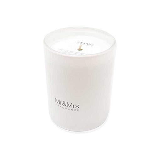 Mr & Mrs Fragrance Bougie Blanc Jasmine of Ibiza 250 gr parfum environnement Maison