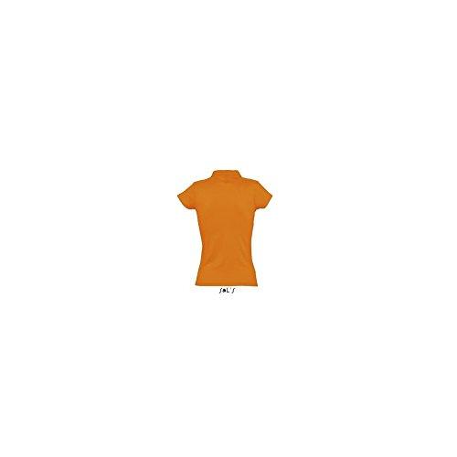Sol di - Womens Polo Shirt Prescott Arancione