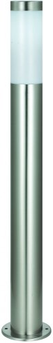Betterlighting BT1003A H0.8 Wegeleuchten, E27, silber, 7,8 x 7,8 x 80 cm